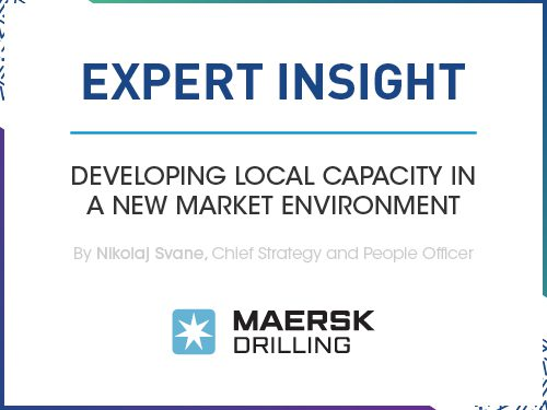 Developing local capacity in a new market environment
