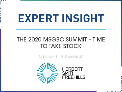 The 2020 MSGBC Summit – Time to Take Stock