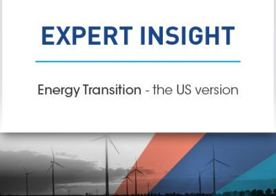 Energy Transition – the US version