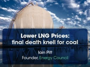 LNG pricing coals final death knell