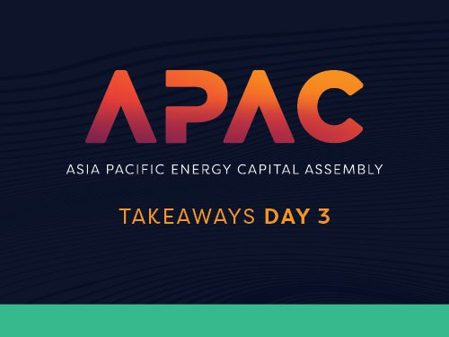 Asia Pacific Energy Assembly 2021: Day 3 Takeaways
