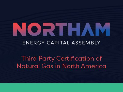 Third Party Certification of Natural Gas in North America