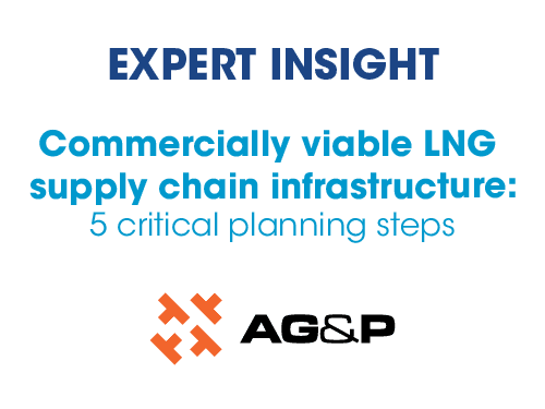 Commercially viable LNG supply chain infrastructure: 5 critical planning steps