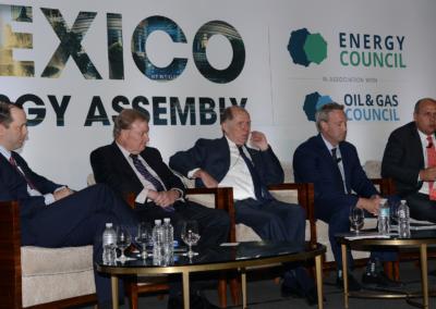 Alfredo Alvarez Laparte, Carlos Morales Gil, Tim Duncan, Talos Energy Richard Spies, Andy Fisher