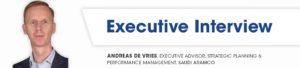 Andreas de Vries executive interviews
