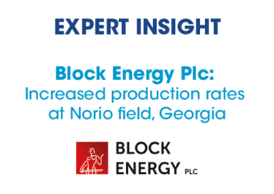 Block Energy – Increased production rates at Norio field, Georgia