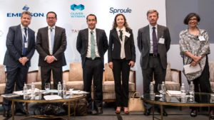 speakers at oil council mexico assembly