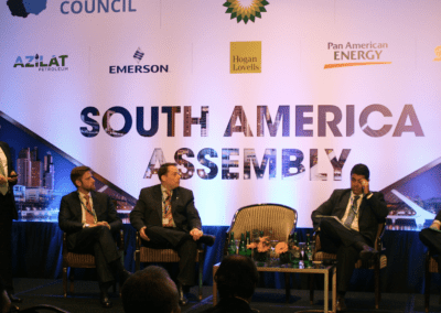 Brazil Panel with Andre Olinto do Valle Silva, Luis Antonio Menezes da Silva, and Andrew Morrison
