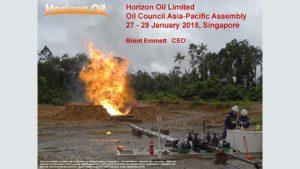 Brent Emmett, Horizon Oil