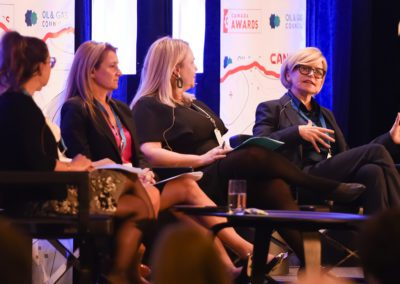 Tracy Robinson speaking on the Women's Energy Council Panel at Canada Assembly 2019