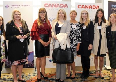 women at canada assembly