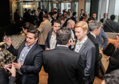 Cocktail reception at South America Power Day