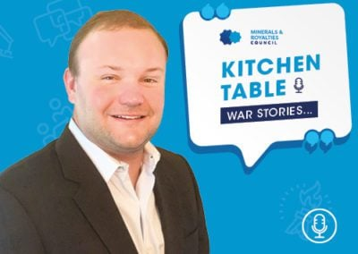 Kitchen Table War Stories: Crosby Shaver, CEO, Blue Darter Energy