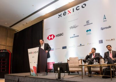 speakers on stage at Mexico 2018