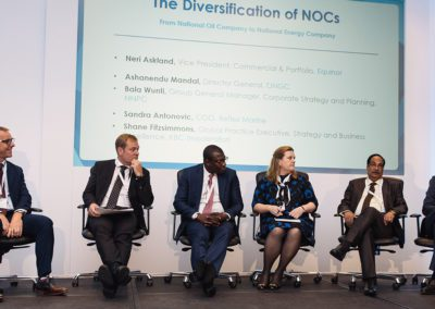 The Diversification of NOCs panel ft. Equinor, ONGC, NNPC, Reflex Marine, Saudi Aramco, KBC
