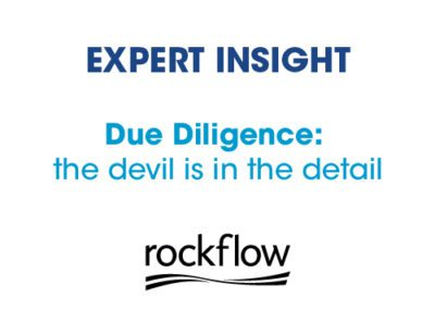 Due Diligence: the devil is in the detail