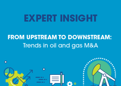 Deloitte – Trends in oil and gas M&A