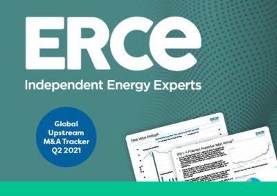 ERCE Global Upstream M&A Tracker Q2 2021