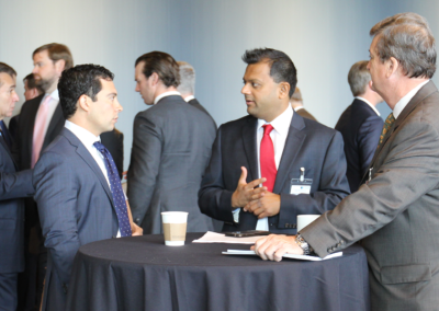 Networking at the North America Assembly