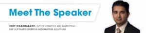 Indy Chakrabart-meet the speaker