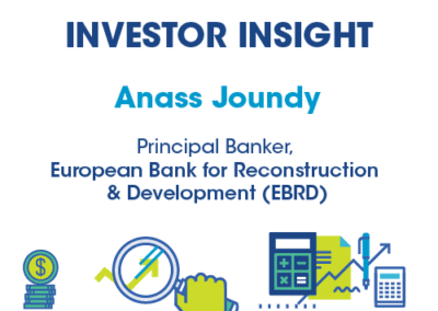 Anass Joundy, Principal Banker, European Bank for Reconstruction & Development (EBRD)