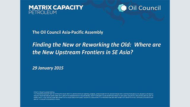 Jeff Lobao, Matrix Capacity Petroleum