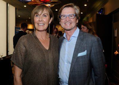 Jim Davidson and Mrs Graton