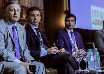 Juan Jose Aranguren, José Luis Vittor, Orlando Velandia, Oscar Roldan at South America Assembly