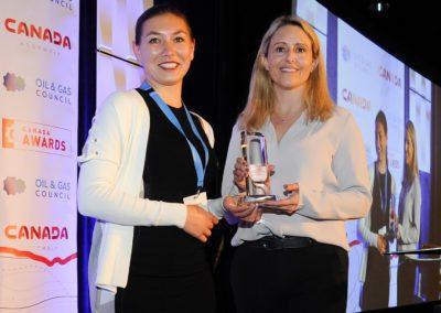 LNG Canada - Diversity Leadership Award Winner at Canada Assembly 2019