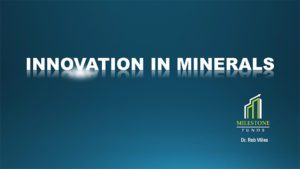 Milestone Resources - Innovation for Minerals