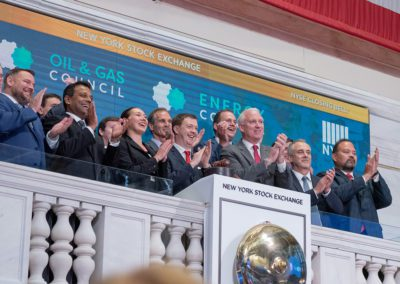 Oil & Gas Council Closing Bell Ceremony June 17th at NYSE