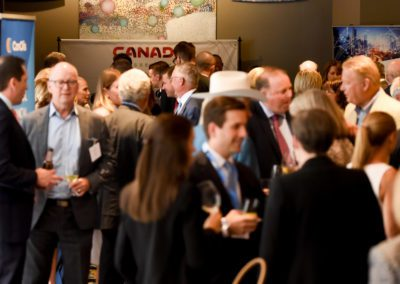 Networking at Canada Assembly 2019