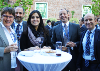 Networking drinks reception at 2016 South America Assembly