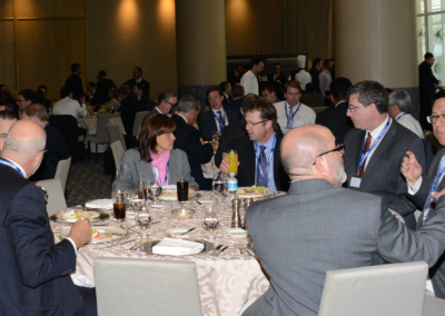 Networking lunch at the Mexico Assembly