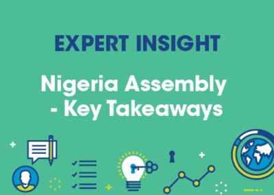 Nigeria Assembly: Key Takeaways