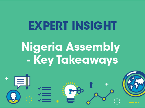 Nigeria Assembly – Key Takeaways