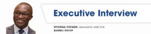 Nyonga Fofang Executive Interview