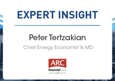 The Energy Transition & the Deployment of Capital: Peter Tertzakian, ARC Financial Corp