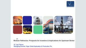 Presentation on Prospects of Modular Refineries