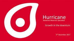 Robert Trice, Hurricane Energy