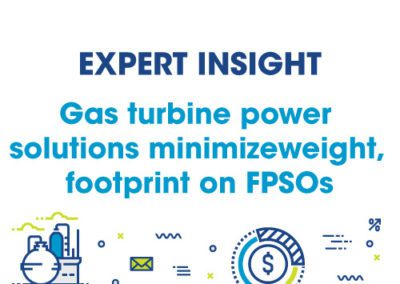 Siemens – FPSOs