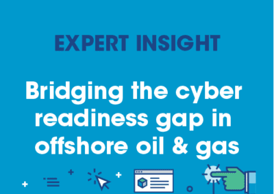 Siemens – Bridging the Cyber Readiness Gap