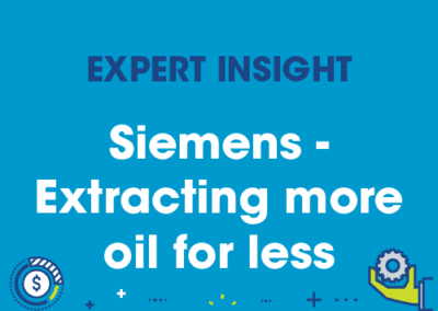 Siemens – Extracting more oil for less