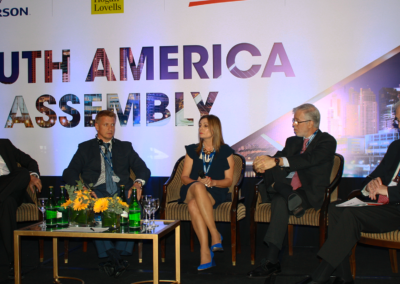 South America Assembly LNG panel moderated by Sam Sherman_Executive Director_SMBC Americas