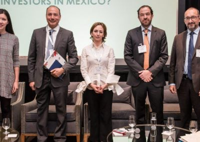 Speakers from the Who are the Clean Energy Investors in Mexico panel