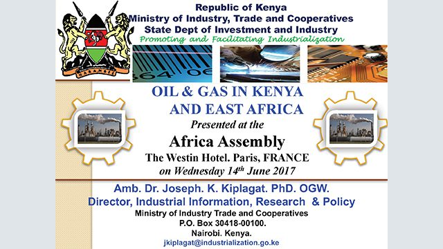 The Oil and Gas INDUSTRY IN KENYA | Oil & Gas | Events