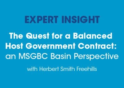 The Quest for a Balanced Host Government Contract: an MSGBC Basin Perspective