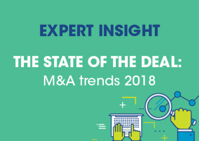 Deloitte – M&A Trends Report 2018