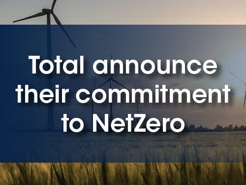 Total announce their commitment to NetZero