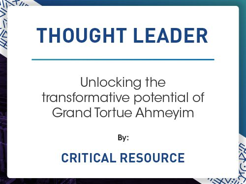 Unlocking the transformative potential of Grand Tortue Ahmeyim